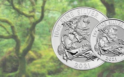 NEW The Royal Mint's 2021 Silver Valiant Coin