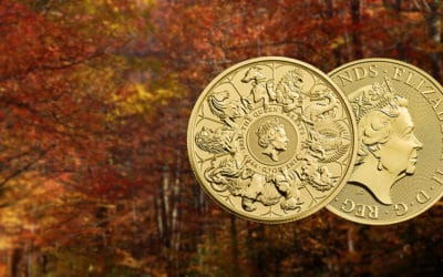 NEW The Royal Mint Queen's Beast 2021 'Completer' Coin