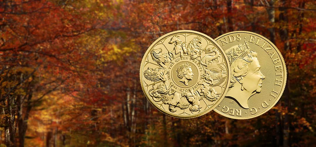 NEW The Royal Mint Queen's Beast 2021 Completer Coin