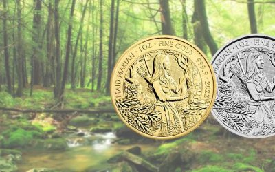 NEW The Royal Mint's 2022 Gold & Silver Maid Marian Coins
