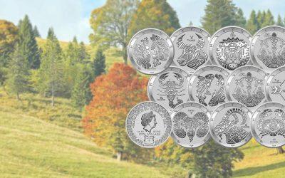 NEW Pressburg Mint's 2021 Silver Tokelau Zodiac Coins