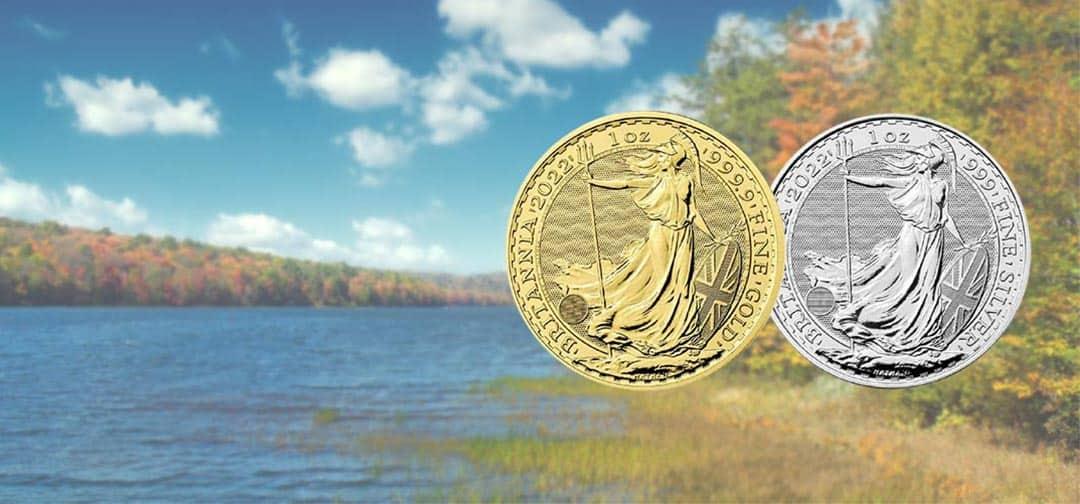 NEW The Royal Mint's 2022 1oz Gold & Silver Britannia Coins